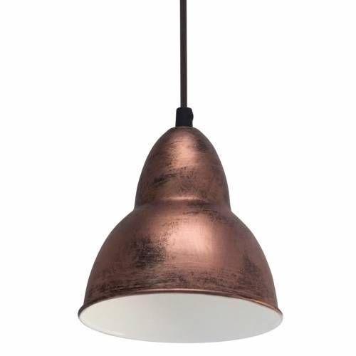Lampa suspendata cuprata Dijon