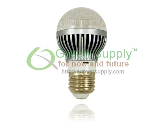 Dimmable A19 LED Light Bulb - 40W Replacement - Cool White (with Clear Reflector) $19.95