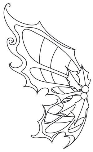 Coloring Pages Fairy Wings Check more at https://www ...