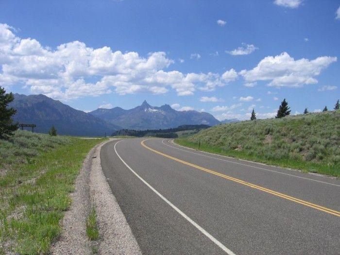 1. Drive down Beartooth Highway.