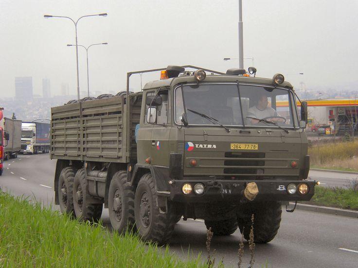 Czech Army Tatra 815 8x8 truck.