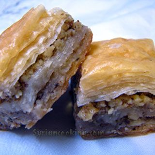 Baklawa - http://www.syriancooking.com/other-desserts/baklawa-baklava