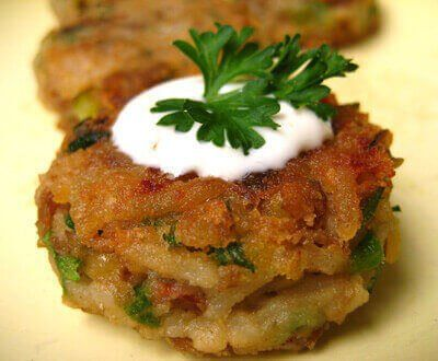 Recipe for lentils with creamy horseradish sauce that definitely has a kick.