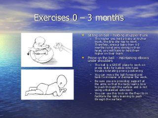 Exercises For Up To 3 Months Baby Development