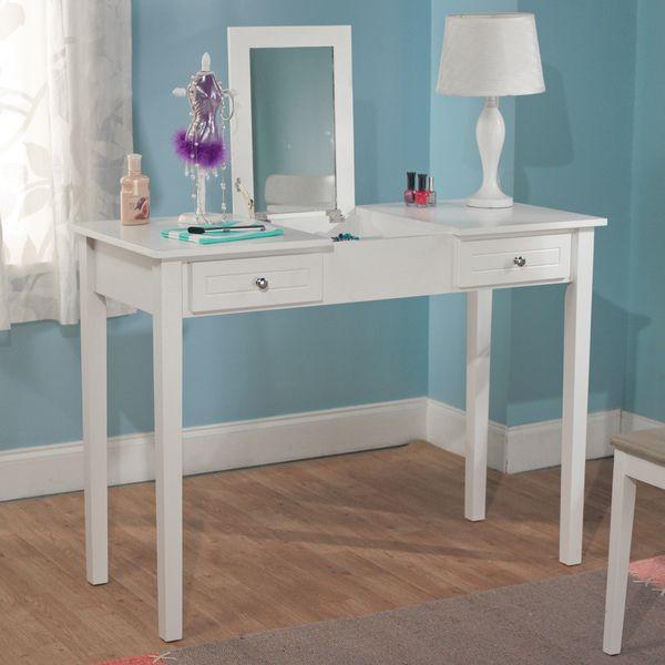 Simple Living Audrey Wooden Vanity Desk By Simple Living