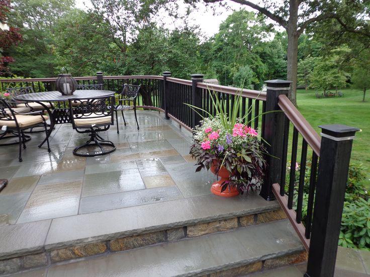 17 best images about basement apartment on pinterest for Concrete patio railing
