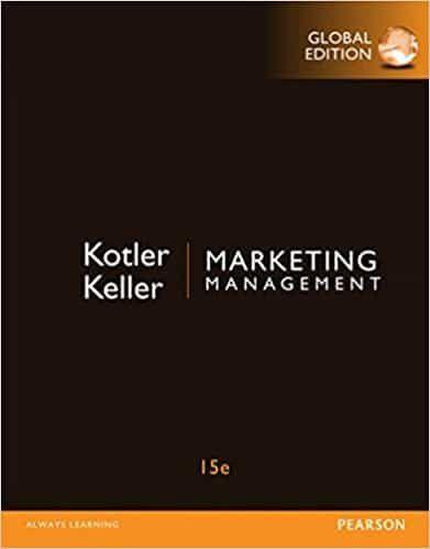 Kotler & Keller's Marketing Management (15th Edition