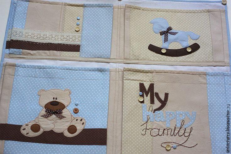 Купить Кармашки в детскую комнату для мальчика - кармашки, карманы, кармашки в детскую, детская