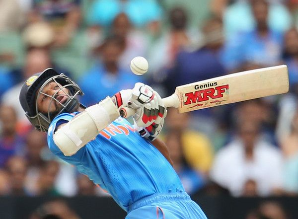 Shikhar Dhawan in South Africa v India - 2015 ICC Cricket World Cup