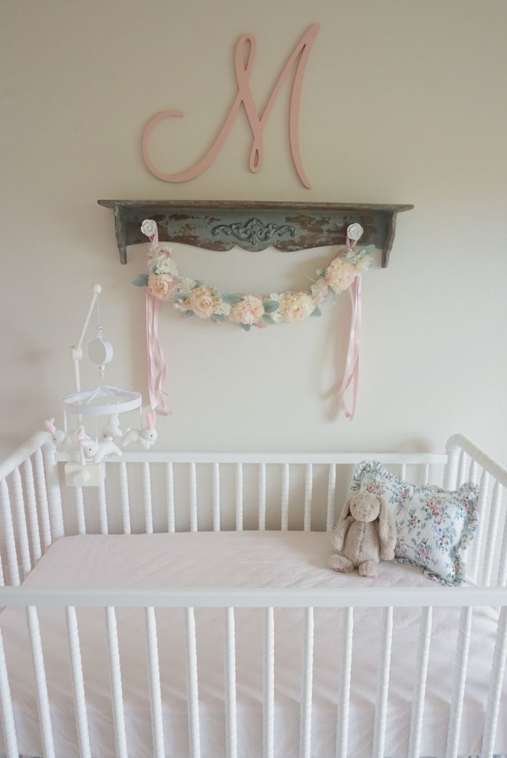 Baby room ideas on a budget - Miss Madeline S Floral Nursery