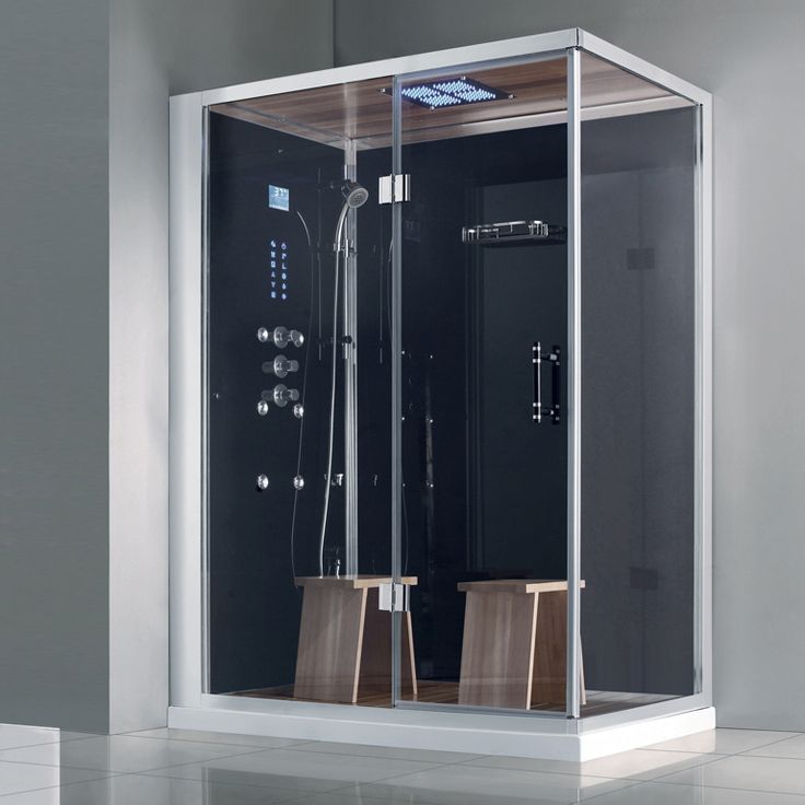 7 best ideas about combn e douche hammam sauna grandhome by aquabains on pint - Baignoire douche balneo hammam ...