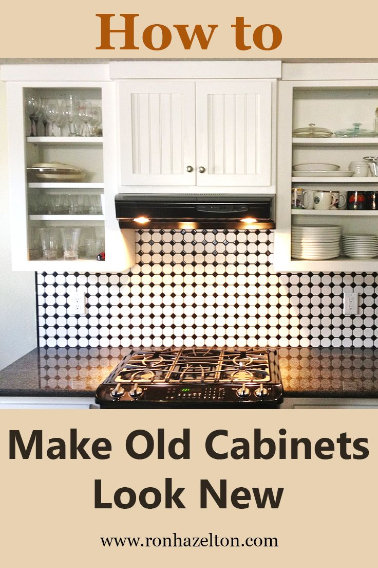 17 best images about finishing made easy on pinterest for How to make old cabinets look modern