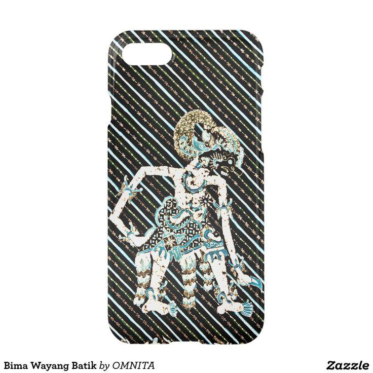 Bima Wayang Batik iPhone 7 Case