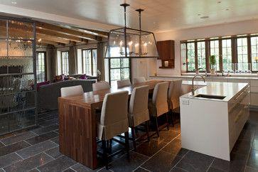 European Flair traditional kitchen