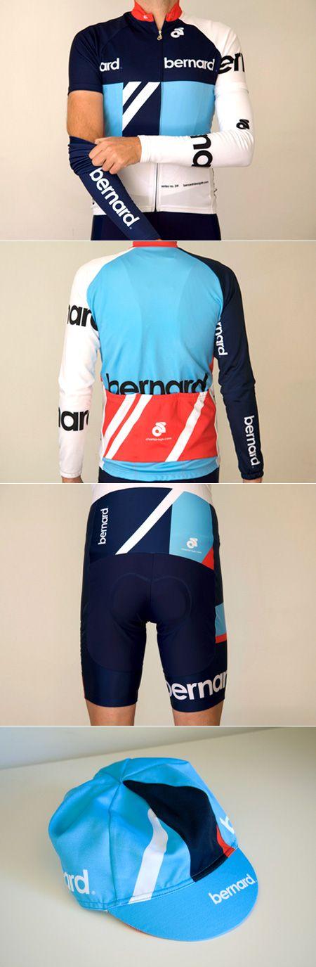Bernard Cycling Kit: a kit I actually understand Like and Repin. Thx Noelito Flow. http://www.instagram.com/noelitoflow