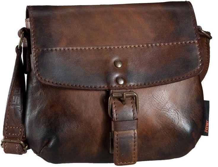 Jost Ranger 2448 Handtasche Cognac - Abendtasche   Clutch
