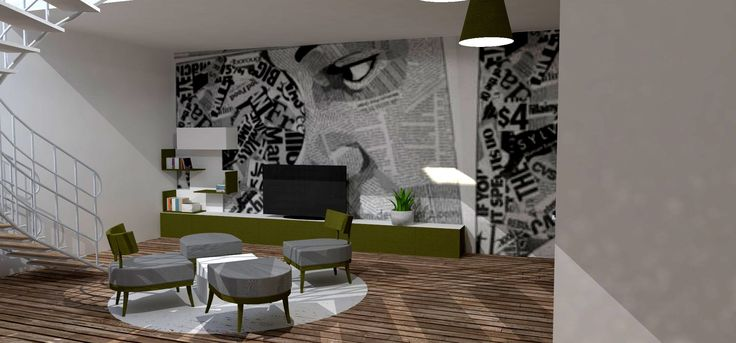 """Our designers vision of the lobby with Woost """"HIGHT"""" furniture.Let us know what you think."""