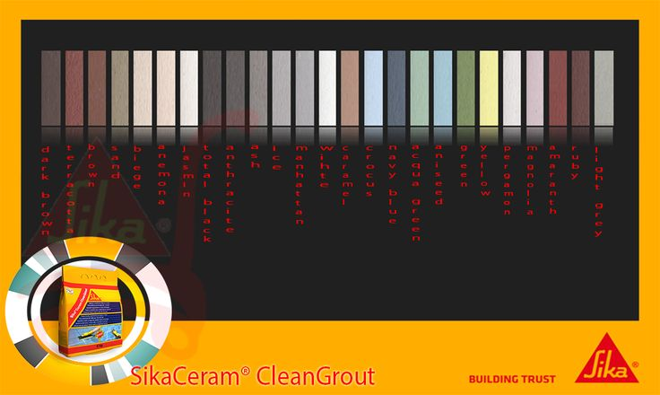 SikaCeram® CleanGrout 25
