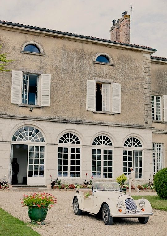 | ♕ | manor house | via ysvoice: Dreams Home, Classic Cars, French Country, French Wedding, Getaways Cars, Future Cars, Antiques Cars, Dreams Life, French Chic