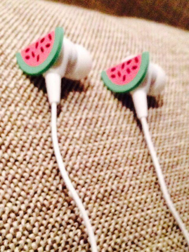 Watermelon ear phones!! Typo :)