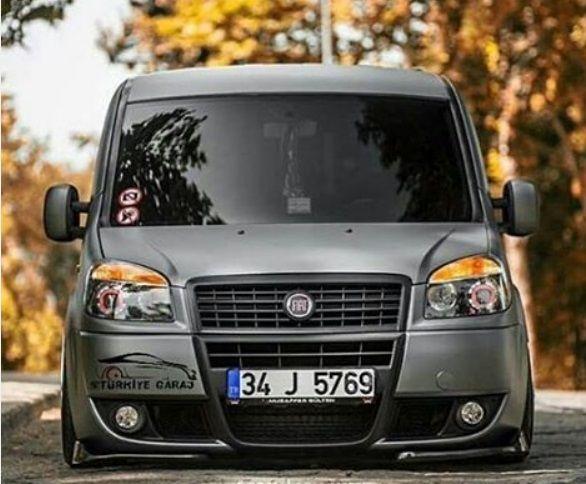 Fiat Doblo on the street in Turkey