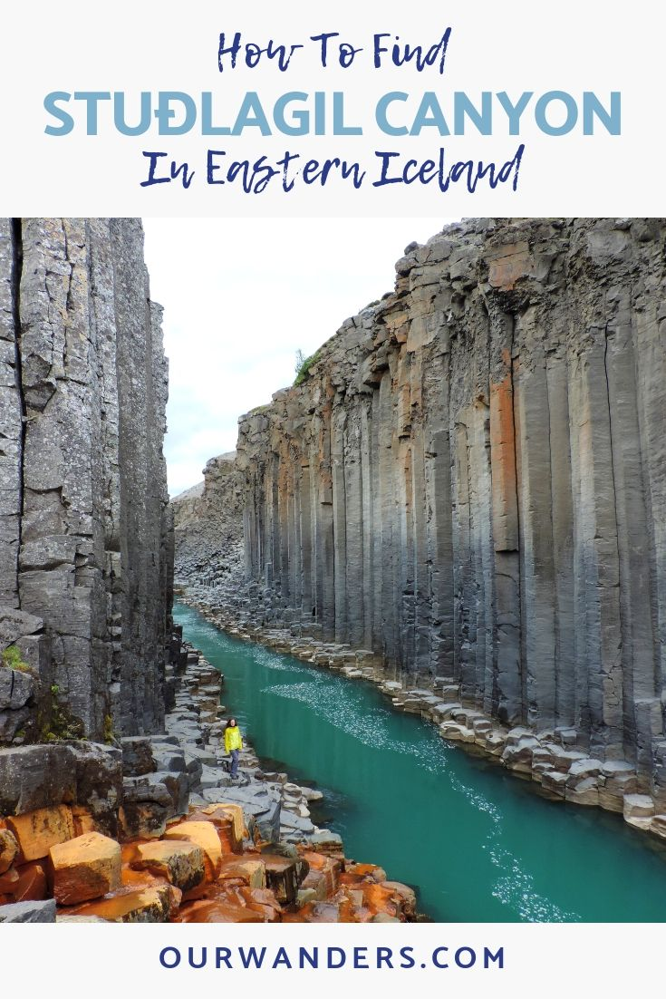 In Search Of The Basalt Column Canyon Of Eastern Iceland