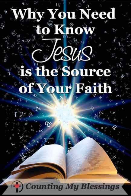 """""""Who or what is worthy of my confidence and trust?"""" It's not enough to just know you blieve. You need to know the what or who - the source of your faith. #Jesus #Faith #Believe"""