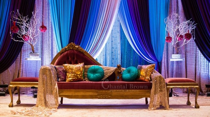 Gorgeous Wedding Ceremonies: Gorgeous Indian Wedding Ceremony Decorations With Bright