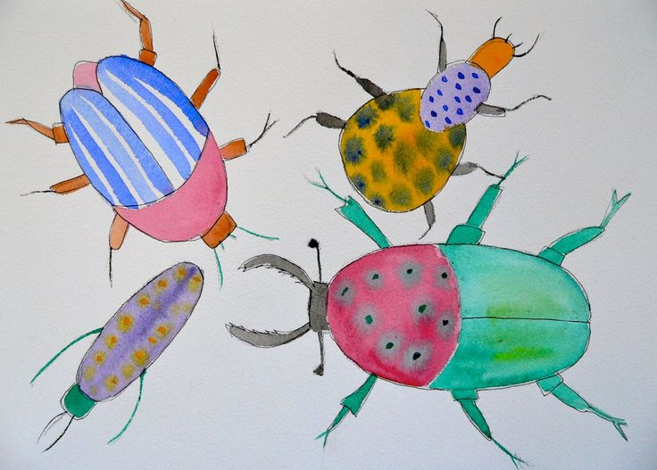 insect art project - Google Search | Summer Camp- Bug O-Rama ...