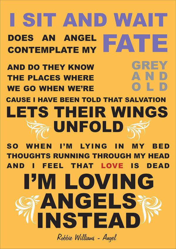 Robbie Williams~Angels