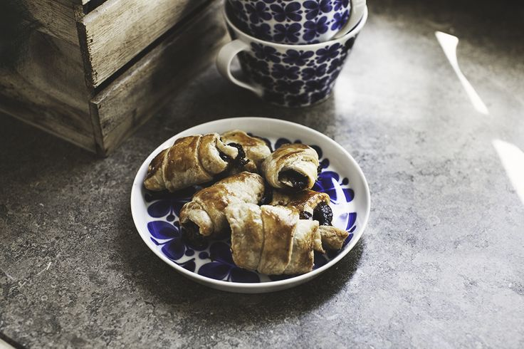 nutella banan croissant