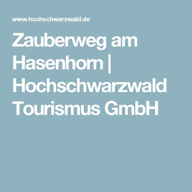 Zauberweg am Hasenhorn   Hochschwarzwald Tourismus GmbH