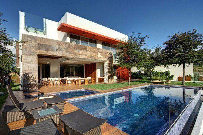 maisons contemporaines - une maison avec piscine très sympa - je veux vivre ici