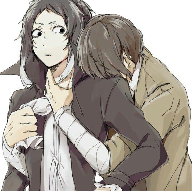 Plot twist - Dazai needs a hug from Akutagawa