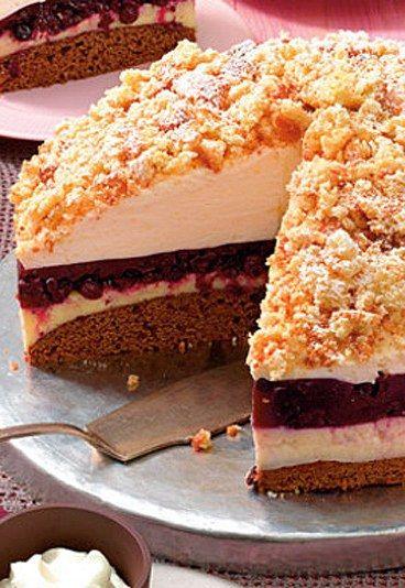 Heidelbeer-Eierlikör-Torte - Eierlikörkuchen - » Zum Rezept: Heidelbeer-Eierlikör-Torte