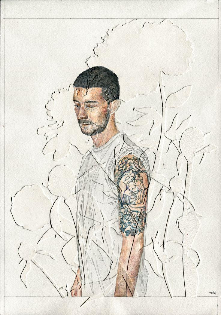 Illustration for a polish lifestyle lgbt magazine PRIDE, 2013, by AROBAL