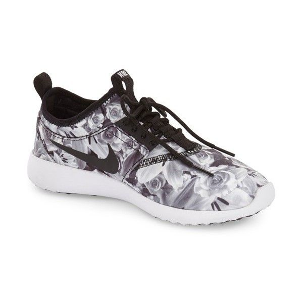 Women's Nike 'Juvenate' Sneaker ($71) ❤ liked on Polyvore featuring shoes, sneakers, nike trainers, grip trainer, nike shoes, stretchy shoes and mesh sneakers