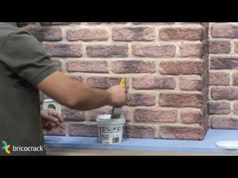 17 mejores ideas sobre decoraci n de paredes grandes en - Plaquetas de ladrillo ...