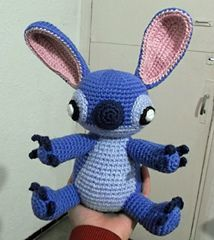 Free Crochet Pattern for Stitch from Lilo and Stitch!