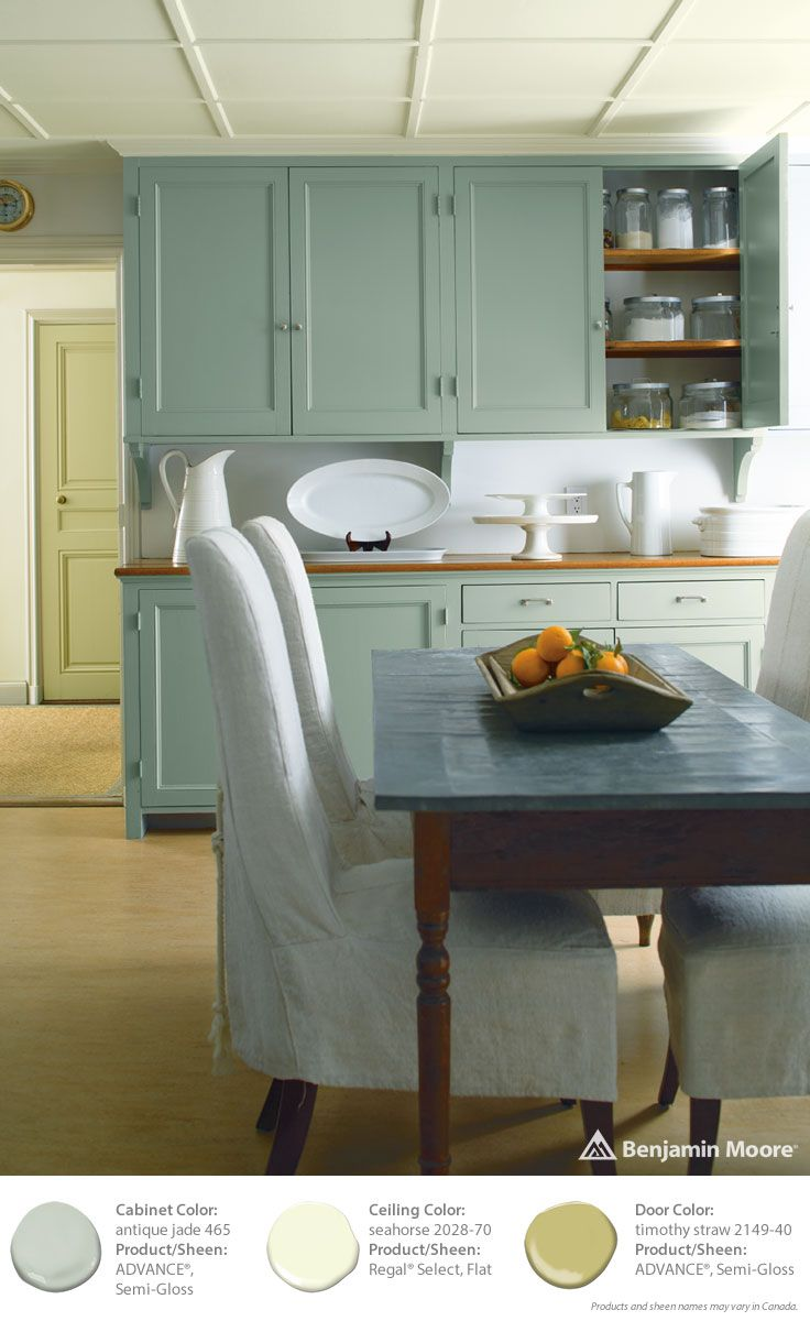 37 best images about benjamin moore color trends 2015 on pinterest silver foxes satin and - Benjamin moore paint colors for kitchen ...