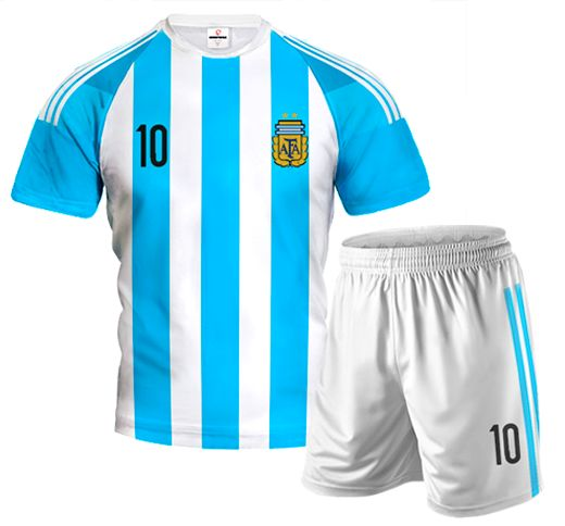 ARGENTINA HOME 2015/16 Football Kit With Custom Name and Number