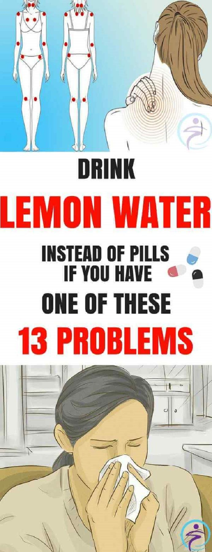 Drink Lemon Water Instead Of Pills If You Have One Of These 13 Problems #DrinkLemonWaterInsteadOfPillsIfYouHaveOneOfThese13Problems