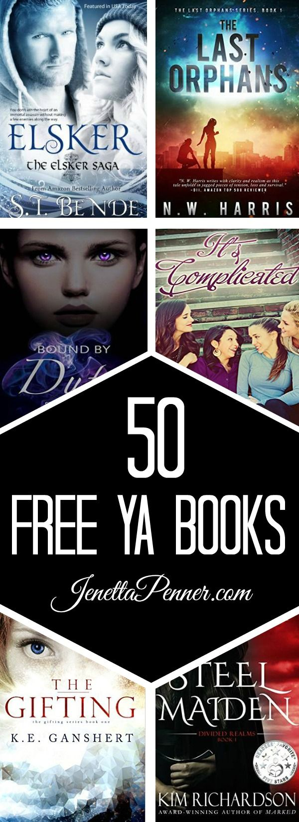 Young Adult Books Are My Favorite! And Here Are 50 Free Titles I Am
