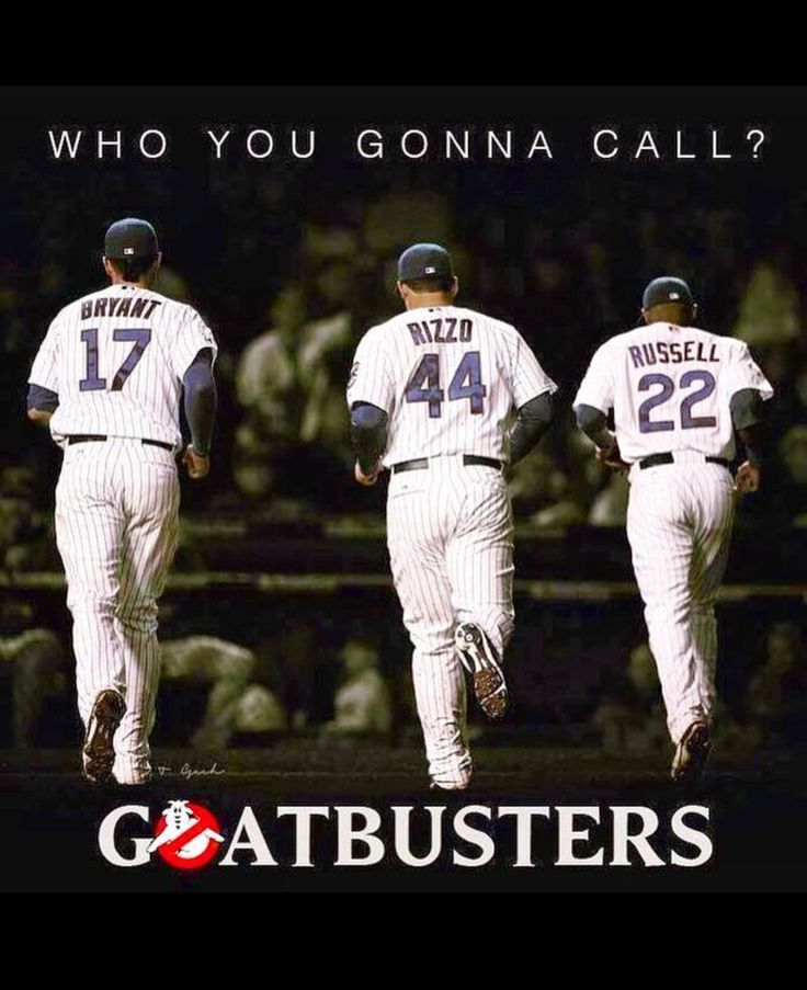 Goatbusters ~ KRIS Bryant, AddiSlam and Rizzo