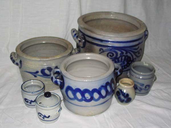 keulse potten voor de inmaak van oa zuurkool en snijbonen