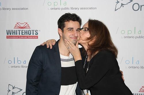 Lila Saab and her son Omar