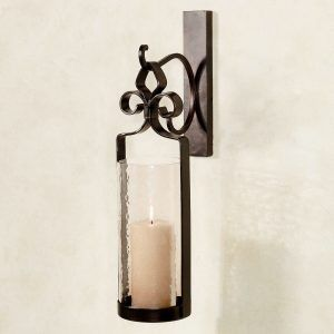 The 25 best candle wall sconces ideas on pinterest wall candle outdoor wrought iron candle wall sconces mozeypictures Images