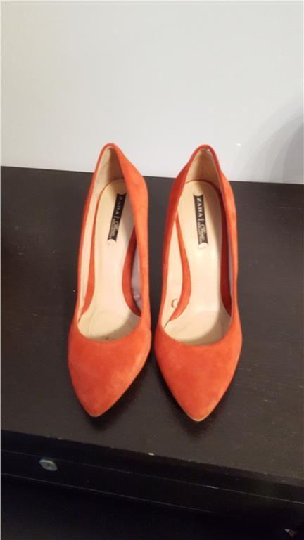 Pumps kilklack zara 39 orange på Tradera.com - Skor med kilklack -