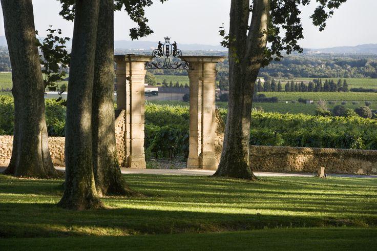 #vin Chateau La Nerthe Extérieur