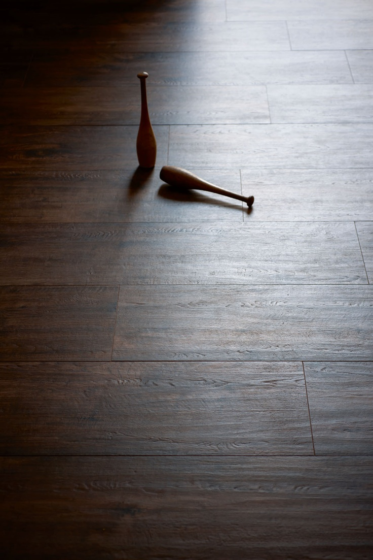 The most durable wood plank isn't wood! It's Marazzi porcelain.